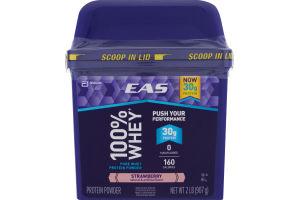 EAS 100% Whey Protein Powder Strawberry