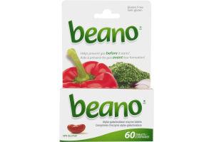 (CN) Beano Comprimes D'Enzyme Alpha-Galactosidase - 60 CT, Beano Alpha-Galactosidase Enzyme Tablets - 60 CT