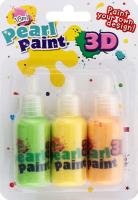 Набор краски перламутровой 18мл 3шт в ассортименте