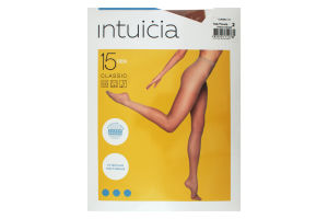 Колготки жіночі Intuicia Classic 15den 2 vizone