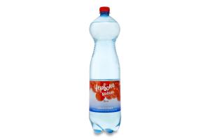 Вода минеральная лечебно-столовая сильногазированная Червона калина п/бут 1.5л