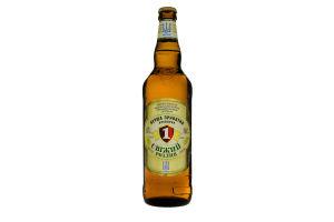 Пиво 0.65л 4.5% светлое ППБ Свежий Разлив бут