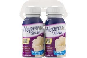 Nepro Shake Homemade Vanilla - 4 CT