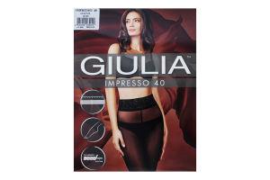 Колготки жіночі Giulia Impresso 40den 3-М daino
