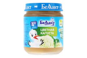 Пюре для дітей від 4міс Цвітна капуста Беллакт с/б 100г