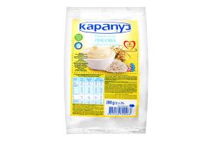 Каша суха рисова з біфідобактеріями для дітей з 4міс Карапуз м/у 200г