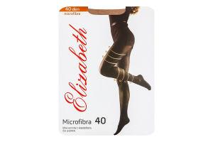 Колготки жіночі Elizabeth Microfibra 40den visone