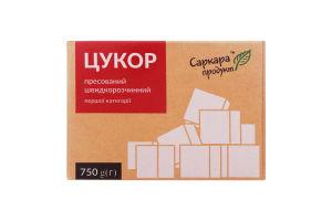 Сахар прессованный быстрорастворимый 1 категории Саркара Продукт к/у 750г