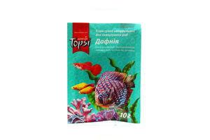 Корм сухой натуральный для аквариумных рыб Дафния Topsi 30г