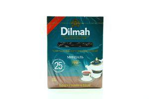 Чай Dilmah черный крупнолистовой с миндалем 80г