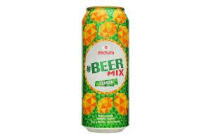 Пиво специальное 0.5л 2.5% светлое BeerMix Лимон ж/б