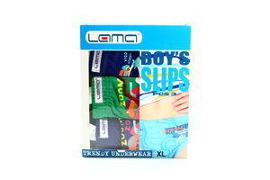 Труси Lama Boy's Slips для хлопчиків XL 3шт
