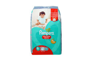 Підгузки-трусики Pampers pants 6 15+ 14шт