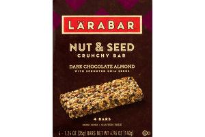 Larabar Nut & Seed Crunchy Bar Dark Chocolate Almond