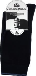 Носки мужские Лівий&Правий Премиум темно-синий р27