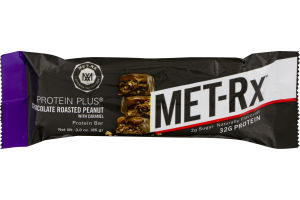 MET-Rx Protein Plus Protein Bar Chocolate Roasted Peanut with Caramel