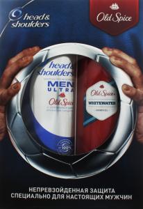 HEAD&SHOULDERS набір Men (шампунь п/лупи,400мл+Old Spice гель д/душу Whitewater,250мл)