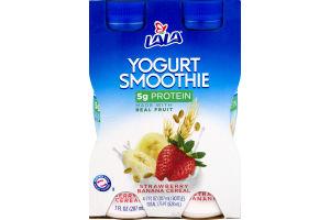 Lala Yogurt Smoothie Strawberry Banana Cereal - 4 PK