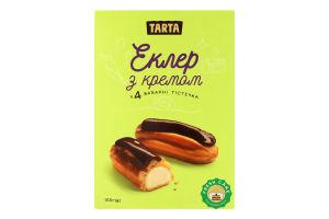 Пирожные заварные с кремом Эклер Tarta к/у 155г