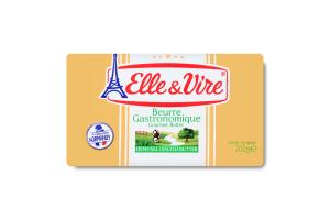 Масло 80% вершкове солоне Elle&Vire м/у 200г