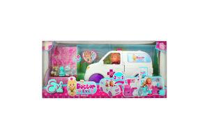 Лялька для дітей від 3років з 42 аксесуарами №5733488 Мобільна ветклініка Doctor Evi Simba 1шт