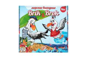 Гра настільна для дітей від 3-х років №30202 Морські вихідні Brik&Brok Strateg 1шт