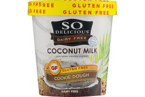 So Delicious Dairy Free Coconut Milk Non-Dairy Frozen Dessert Cookie Dough