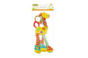 Іграшка-підвіска з брязкальцем для дітей від 4-х місяців №8531 Жирафа Baby Team 1шт