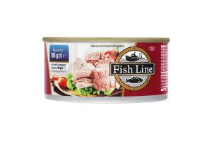 Тунец в масле Fish Line ж/б 185г
