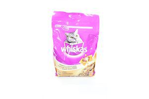 Корм д/кот сух из курицы Whiskas 4кг
