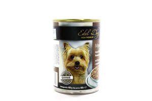 Консерва Edel Dog для собак Індик та печінка в соусі 400г