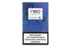 Виріб тютюновмісний для нагрівання Neo Brilliant Berry 20шт