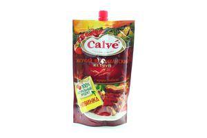 Кетчуп Calve Мексиканский жгучий д/п закр 350г