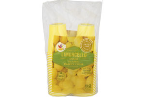 Ahold Limoncello Inspired Plastic Party Cups - 50 CT