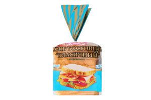 Хліб тостовий половинка в нарізці Класичний Кріворіжхліб м/у 250г