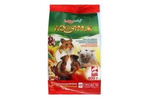 Корм для мелких и средних декоративных грызунов Ласунчик Hobby Meal м/у 600г