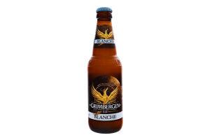 Пиво специальное 0.33л 6% светлое пастеризованное Blanche Grimbergen бут