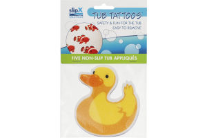 SlipX Solutions Tub Tattoos - 5 CT