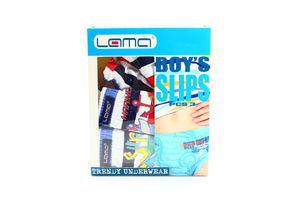 Труси Lama Boy's Slips для хлопчиків 3шт