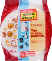 Коржи вафельные для торта Классика Лекорна Lekorna м/у 90г