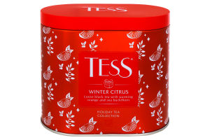 Чай TESS Winter Citrus ж/б 100г х4