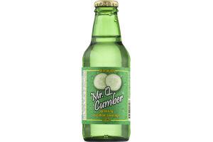 Mr. Q Cumber sparkling cucumber beverage