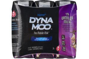 Natrel Dyna Moo 1% Vanilla Milk - 3 CT