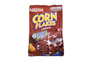 Готовий сніданок Nestle Корн Флейкс Какао з вітамінами 450г