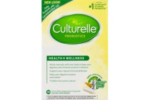 Culturelle Health & Wellness Probiotic - 30 CT