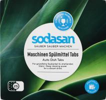 Таблетки для посудомийної машини органічні Sodasan 25шт