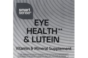Smart Sense Eye Health & Lutein Vitamin & Mineral Supplement Tablets - 120 CT