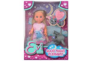 Набор кукольный с слоненком для детей от 3лет №105733355 Спокойной ночи Эви Simba 1шт