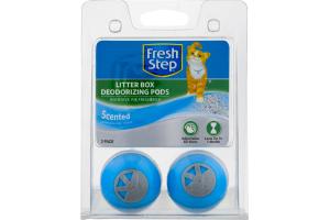 Fresh Step Litter Box Deodorizing Pods Scented - 2 PK