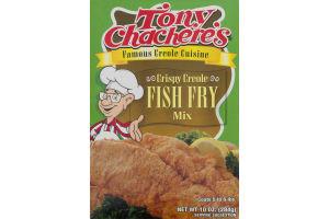 Tony Chachere's Famous Creole Cuisine Crispy Creole Fish Fry Mix